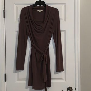 Boutique Brown Sweater Dress